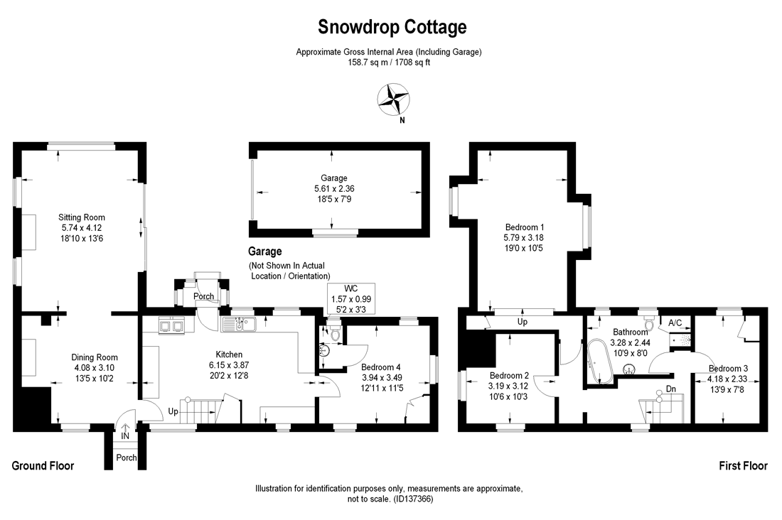 Snowdrop Cottage Plans